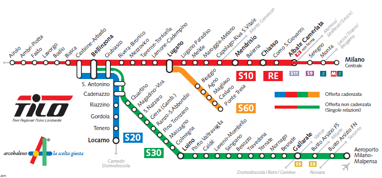 Notizie sui treni per malpensa - Da porta garibaldi a milano centrale ...